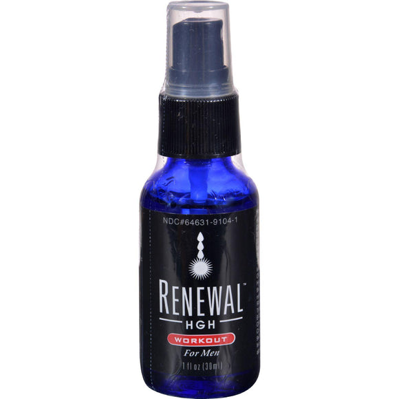 Always Young Renewal Hgh Spray - Workout For Men - 1 Fl Oz - Vita-Shoppe.com
