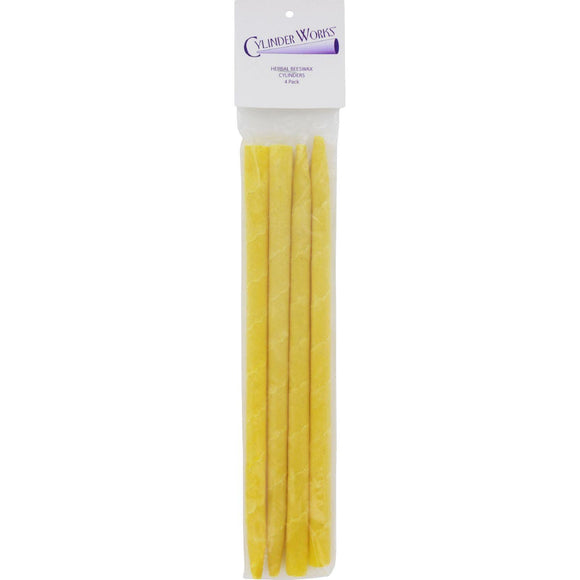 Cylinder Works Herbal Beeswax Ear Candles - 4 Pack - Vita-Shoppe.com