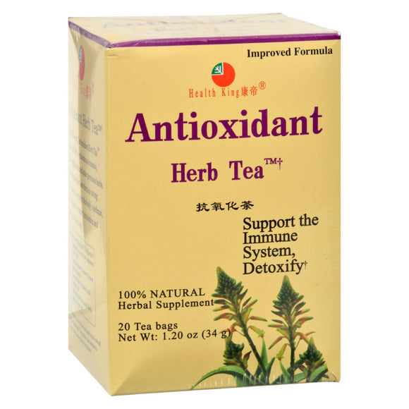 Health King Medicinal Teas Antioxidant Herb Tea - 20 Tea Bags - Vita-Shoppe.com