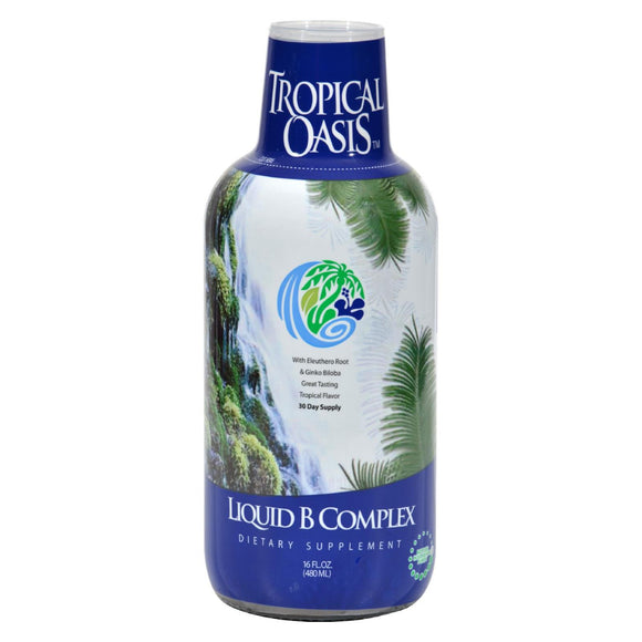 Tropical Oasis Liquid B-complex - 16 Fl Oz - Vita-Shoppe.com