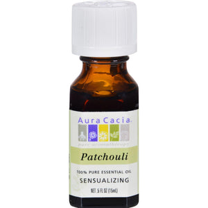 Aura Cacia Pure Essential Oil Patchouli - 0.5 Fl Oz - Vita-Shoppe.com