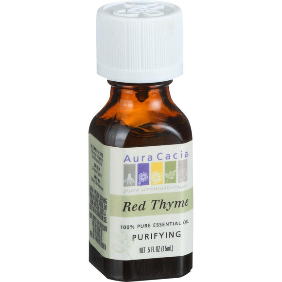 Aura Cacia Essential Oil - Red Thyme - .5 Oz - Vita-Shoppe.com