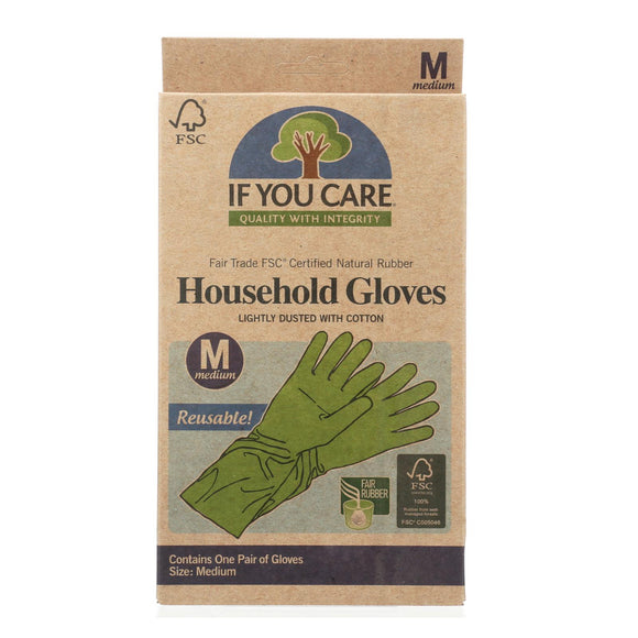 If You Care Household Gloves - Medium - 12 Pairs - Vita-Shoppe.com