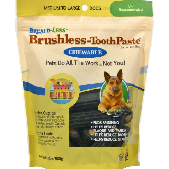 Ark Naturals Breath-less Brushless Toothpaste - 18 Oz - Vita-Shoppe.com