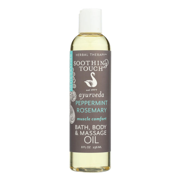 Soothing Touch Bath And Body Oil - Muscle Cmf - 8 Oz - Vita-Shoppe.com