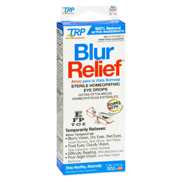Trp Blur Relief Eye Drops - 0.05 Fl Oz - Vita-Shoppe.com