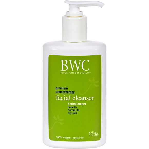 Beauty Without Cruelty Facial Cleanser Herbal Cream - 8.5 Fl Oz - Vita-Shoppe.com