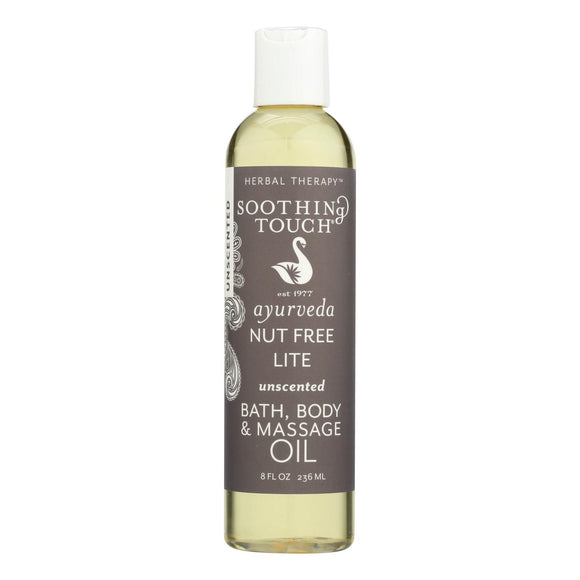 Soothing Touch Massage Oil - Nut Free - 8 Oz - Vita-Shoppe.com
