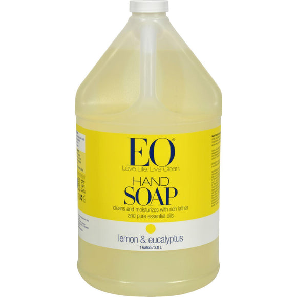Eo Products Liquid Hand Soap Lemon And Eucalyptus - 1 Gallon - Vita-Shoppe.com