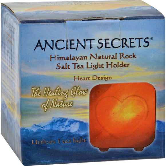 Ancient Secrets Himalayan Salt Tea Light Heart - Pack - Vita-Shoppe.com