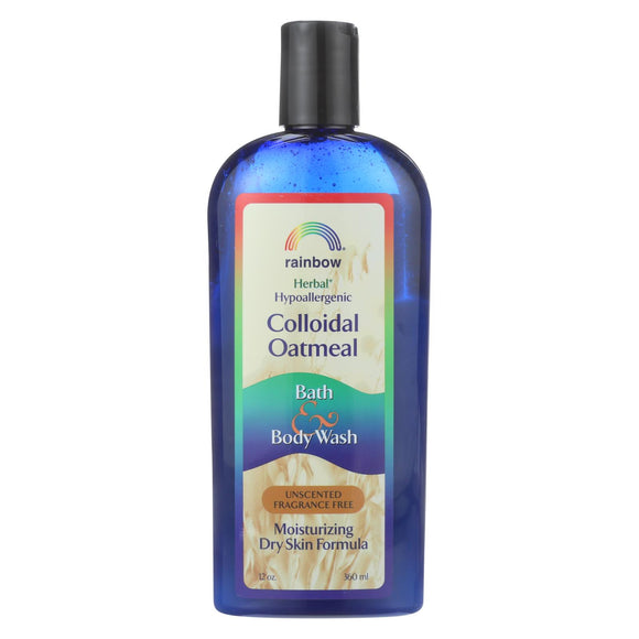 Rainbow Research Colloidal Oatmeal Bath And Body Wash - Fragrance Free - 12 Oz - Vita-Shoppe.com