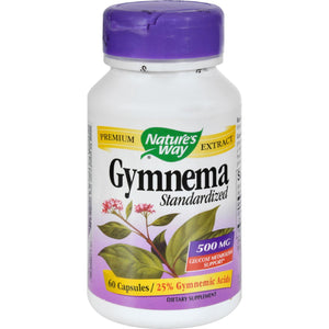 Nature's Way Gymnema Standardized - 60 Capsules
