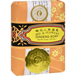 Bee And Flower Soap Ginseng - 2.65 Oz - Case Of 12 - Vita-Shoppe.com