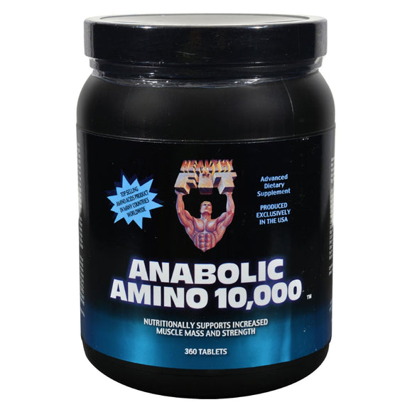 Healthy 'n Fit Nutritionals Amino 10000 - 360 Tablets - Vita-Shoppe.com