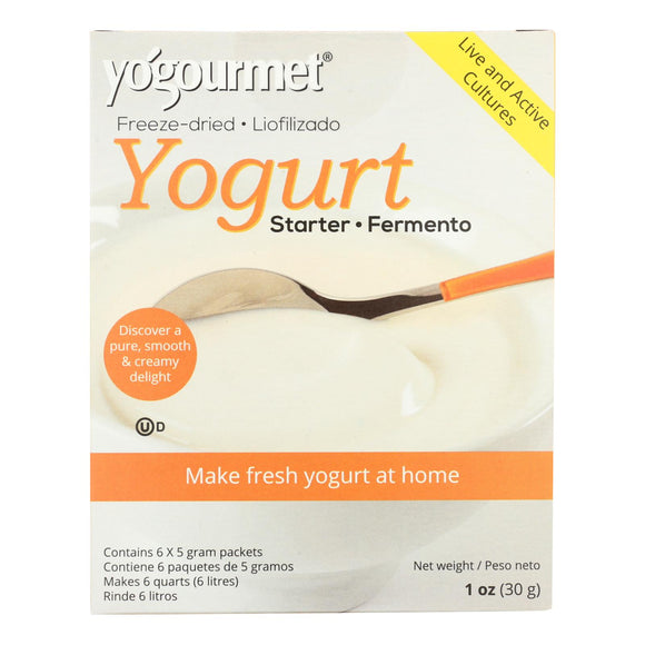 Yogourmet Freeze Dried Yogurt Starter And Creme Bulgare Starter - 1 Oz - Vita-Shoppe.com