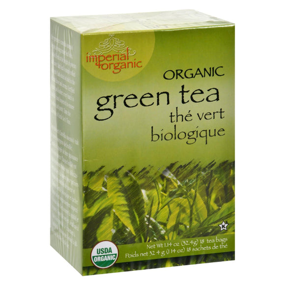 Uncle Lee's Imperial Organic Green Tea - 18 Tea Bags - Vita-Shoppe.com