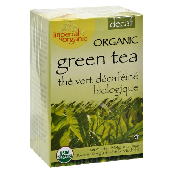 Uncle Lee's Tea Organic Imperial Decaffeinated Green Tea - 18 Bags - Vita-Shoppe.com