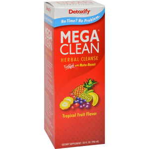 Detoxify Mega Clean - Tropical - 32 Oz - Vita-Shoppe.com