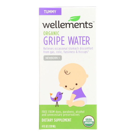 Wellements Gripe Water For Colic - 4 Fl Oz - Vita-Shoppe.com