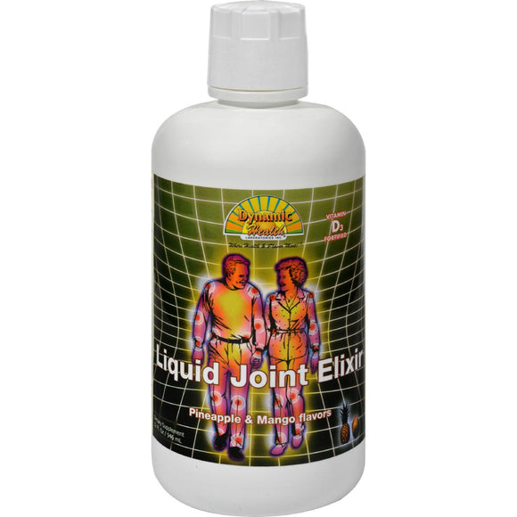 Dynamic Health Liquid Joint Elixir Pineapple And Mango - 32 Fl Oz - Vita-Shoppe.com
