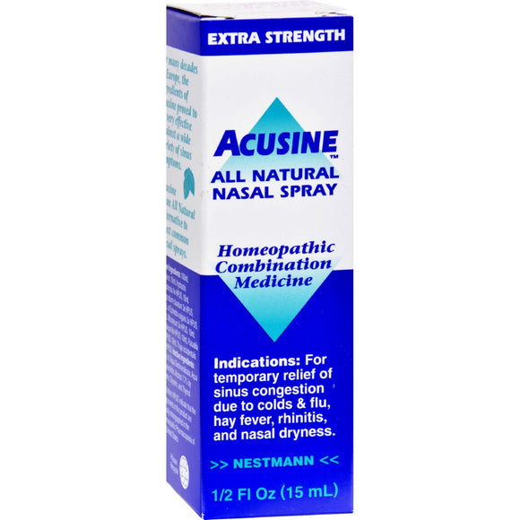 Acusine Nasal Spray - .5 Oz - Vita-Shoppe.com