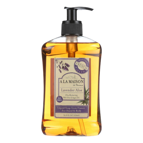 A La Maison French Liquid Soap - Lavender Aloe - 16.9 Fl Oz - Vita-Shoppe.com