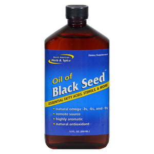 North American Herb And Spice Oil Of Black Seed - 12 Fl Oz - Vita-Shoppe.com