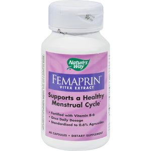 Nature's Way Femaprin Vitex Extract - 60 Caps - Vita-Shoppe.com