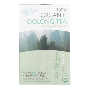 Prince Of Peace Organic Oolong Tea - 100 Tea Bags - Vita-Shoppe.com