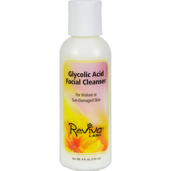 Reviva Labs Glycolic Acid Facial Cleanser - 4 Fl Oz - Vita-Shoppe.com
