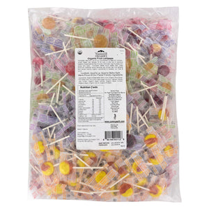 Yummy Earth Organic Fruit Lollipops - Assorted Fruits Flavors - 5 Lb Container - Vita-Shoppe.com