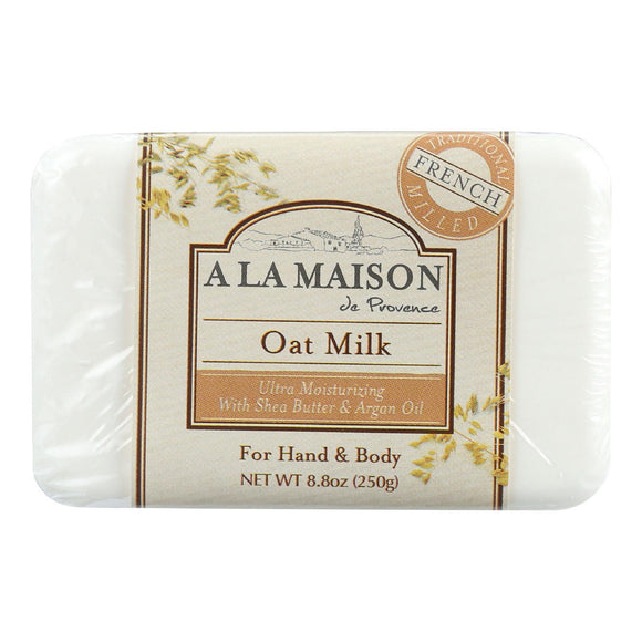 A La Maison Bar Soap - Oat Milk - 8.8 Oz - Vita-Shoppe.com