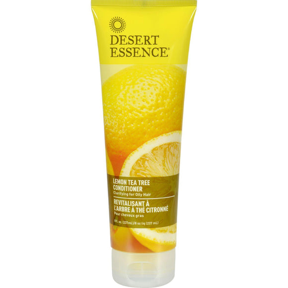 Desert Essence Conditioner Lemon Tea Tree - 8 Fl Oz - Vita-Shoppe.com