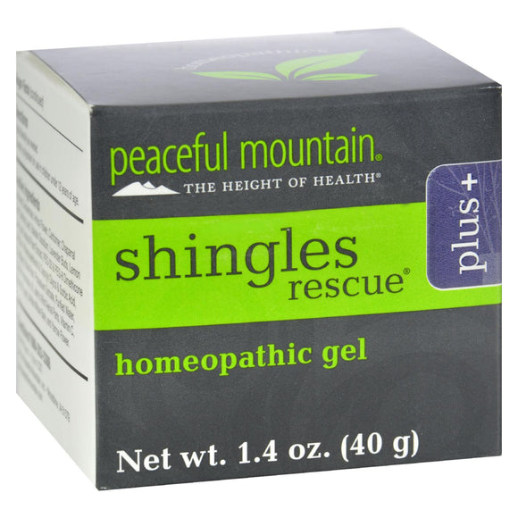 Peaceful Mountain Shinglederm Rescue Plus Extra Strength - 1.4 Oz - Vita-Shoppe.com