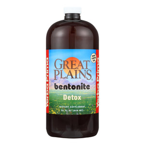 Yerba Prima Great Plains Bentonite Detox - 32 Fl Oz - Vita-Shoppe.com