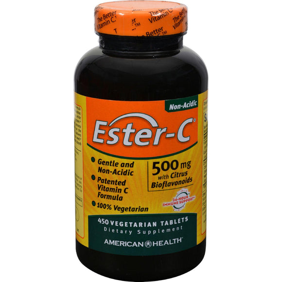 American Health Ester-c With Citrus Bioflavonoids - 500 Mg - 450 Vegetarian Tablets - Vita-Shoppe.com