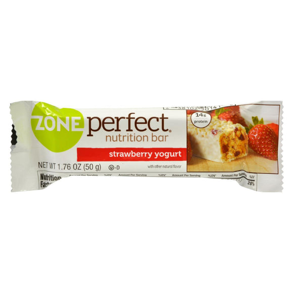 Zone - Nutrition Bar - Strawberry Yogurt - Case Of 12 - 1.76 Oz. - Vita-Shoppe.com