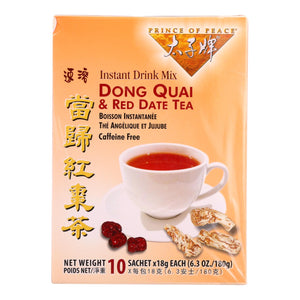 Prince Of Peace Tea - Herbal - Dong Quai And Red Date - 10 Bags - Vita-Shoppe.com