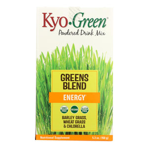 Kyolic - Kyo-green Energy Powdered Drink Mix - 5.3 Oz - Vita-Shoppe.com