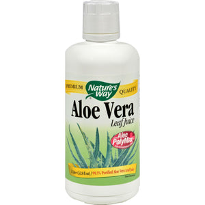 Nature's Way Organic Aloe Vera Whole Leaf Juice - 33.8 Fl Oz - Vita-Shoppe.com