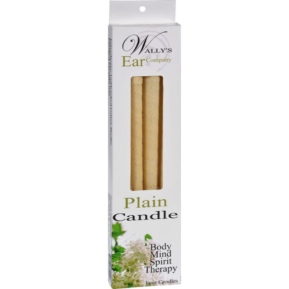 Wally's Candle - Plain - 4 Candles - Vita-Shoppe.com