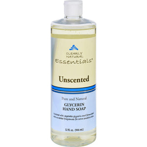 Clearly Natural Hand Soap - Liquid - Unscented - Refill - 32 Oz - Vita-Shoppe.com