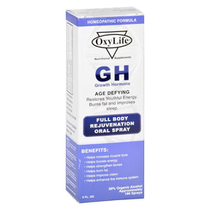 Oxylife Growth Hormone - 2 Fl Oz - Vita-Shoppe.com