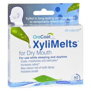 Oracoat - Xylimelts - Dry Mouth - Regular - 40 Count - Vita-Shoppe.com