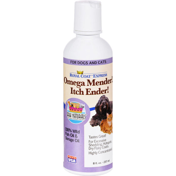 Ark Naturals Royal Coat Express Omega Minder Itch Ender - 8 Fl Oz - Vita-Shoppe.com