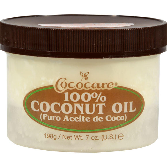 Cococare 100% Coconut Oil - 7 Oz - Vita-Shoppe.com