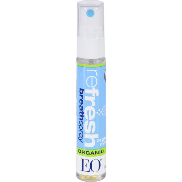 Eo Products Breath Spray - Organic Refresh - Counter Dsp - .33 Oz - 1 Case - Vita-Shoppe.com