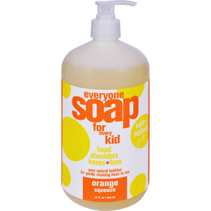 Eo Products Everyone Soap For Kids - Orange Squeeze - 32 Oz - Vita-Shoppe.com