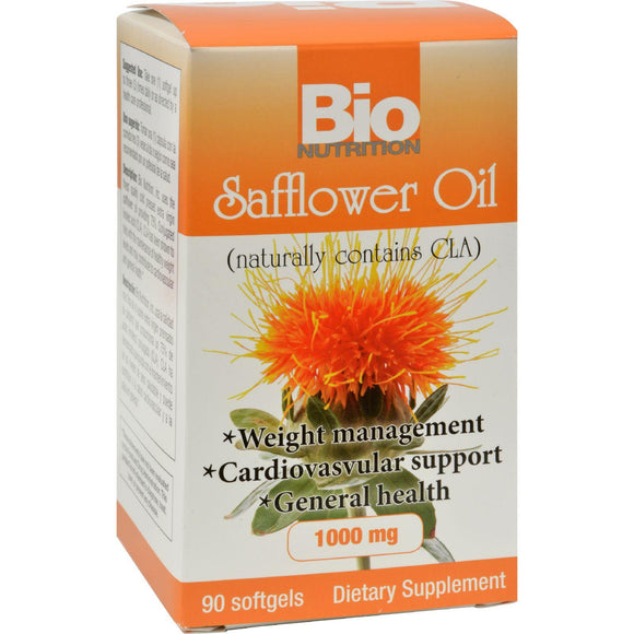 Bio Nutrition Safflower Oil - 90 Softgels - Vita-Shoppe.com