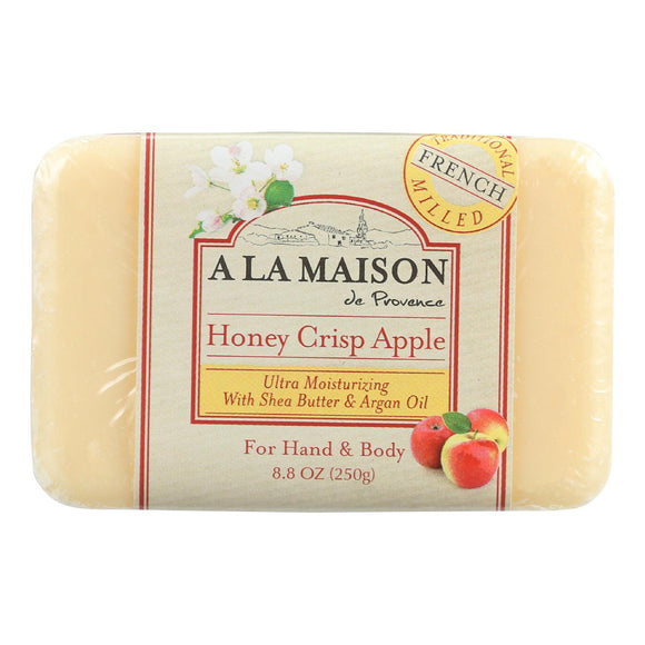 A La Maison Bar Soap - Honey Crisp Apple - 8.8 Oz - Vita-Shoppe.com
